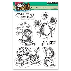 Penny Black - Clear Stamp - Sweet You