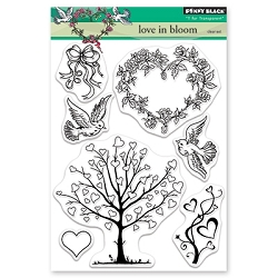 Penny Black - Clear Stamp - Love in Bloom