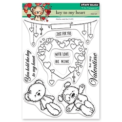 Penny Black - Clear Stamp - Key To My Heart