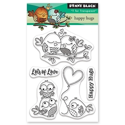 Penny Black - Clear Stamp - Happy Hugs