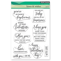 Penny Black - Clear Stamp - Kisses & Wishes