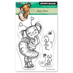 Penny Black - Clear Stamp - Fairy Love