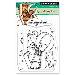 Penny Black - Clear Stamp - All My Love