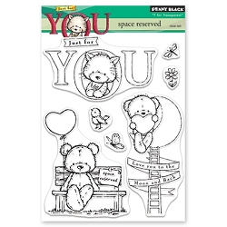 Penny Black - Clear Stamp - Space Reserved