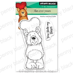 Penny Black - Clear Stamp - Fur-Ever Yours