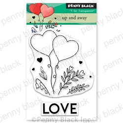 Penny Black - Clear Stamp - Up and Away
