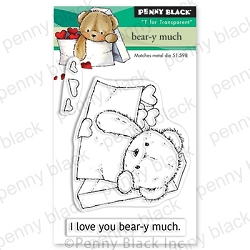 Penny Black - Clear Stamp - Bear-y Much