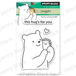 Penny Black - Clear Stamp - Snuggles
