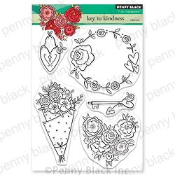 Penny Black - Clear Stamp - Key to Kindness
