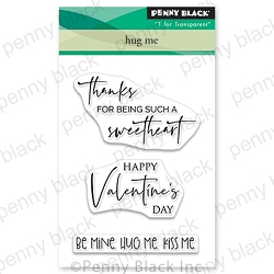 Penny Black - Clear Stamp - Hug Me