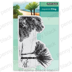 Penny Black - Slapstick Cling Stamp - Ocean Breeze