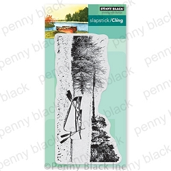Penny Black - Slapstick Cling Stamp - Calm Waters