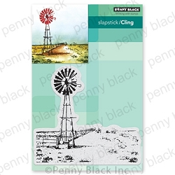 Penny Black - Slapstick Cling Stamp - Country Life
