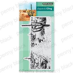 Penny Black - Slapstick Cling Stamp - Desert Dreams