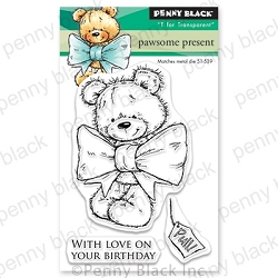 Penny Black - Clear Stamp - Pawsome Present