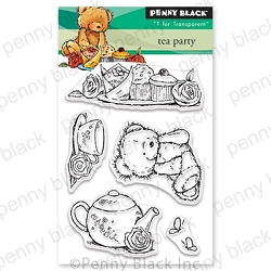 Penny Black - Clear Stamp - Tea Party