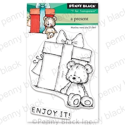 Penny Black - Clear Stamp - A Present
