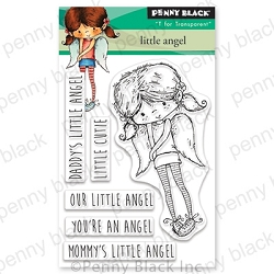 Penny Black - Clear Stamp - Little Angel