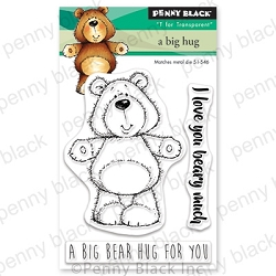 Penny Black - Clear Stamp - A Big Hug