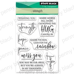 Penny Black - Clear Stamp - Strength