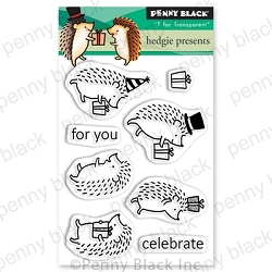 Penny Black - Clear Stamp - Hedgie Presents