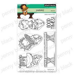 Penny Black - Clear Stamp - Yummy