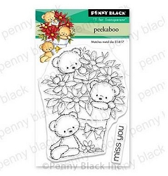 Penny Black - Clear Stamp - Peekaboo
