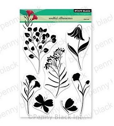 Penny Black - Clear Stamp - Soulful Silhouettes