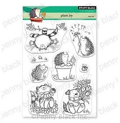 Penny Black - Clear Stamp - Plant Joy