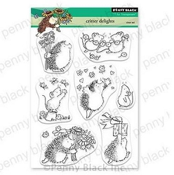 Penny Black - Clear Stamp - Critter Delights