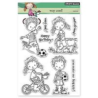 Penny Black - Clear Stamp - Way Cool!
