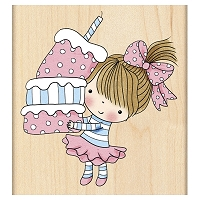 Penny Black - Wood mounted rubber stamp - Cupcake Mimi :)