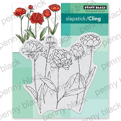 Penny Black - Slapstick Cling Stamp - Unfolding