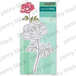 Penny Black - Slapstick Cling Stamp - Timeless