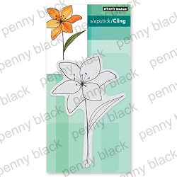 Penny Black - Slapstick Cling Stamp - Soft Spoken