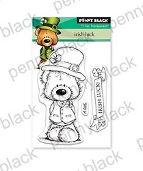 Penny Black - Clear Stamp - Irish Luck