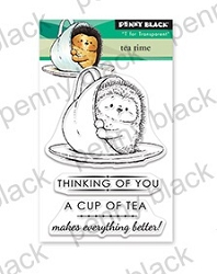 Penny Black - Clear Stamp - Tea Time