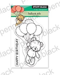 Penny Black - Clear Stamp - Balloon Ride