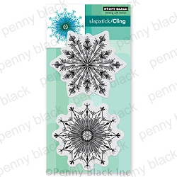 Penny Black - Slapstick Cling Stamp - Fab Flakes