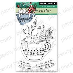 Penny Black - Clear Stamp - Cup of Joy