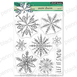 Penny Black - Clear Stamp - Snow Charm