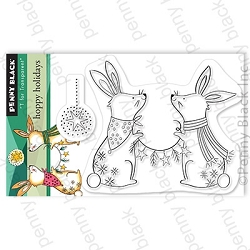 Penny Black - Clear Stamp - Hoppy Holidays