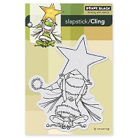 Penny Black - Slapsticks Cling Mounted Stamp - Little Elf Ava