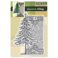 Penny Black - Slapsticks Cling Mounted Stamp - Tree Story