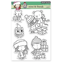 Penny Black - Clear Stamp - Mimi & Friends
