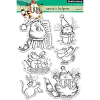 Penny Black - Clear Stamp - Santa's Helpers