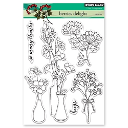 Penny Black - Clear Stamp - Berries Delight