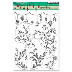 Penny Black - Clear Stamp - Sparkling . . .