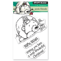 Penny Black - Clear Stamp - Arctic Friends