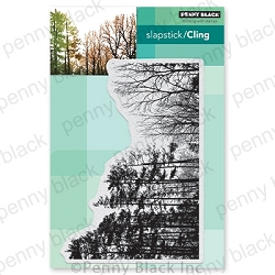 Penny Black - Slapstick Cling Stamp - Winter Woodland